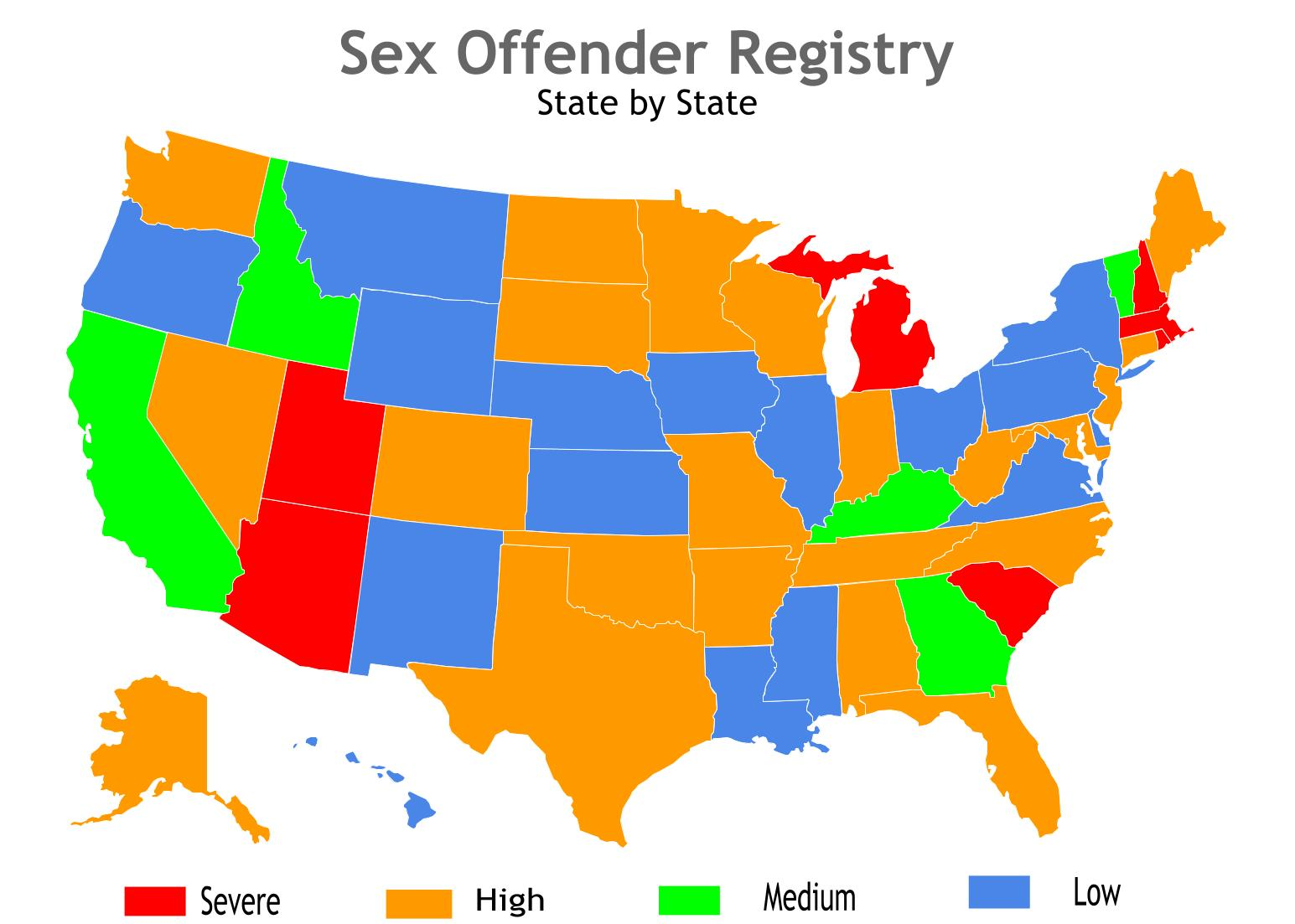 Offender registry sex state virginia